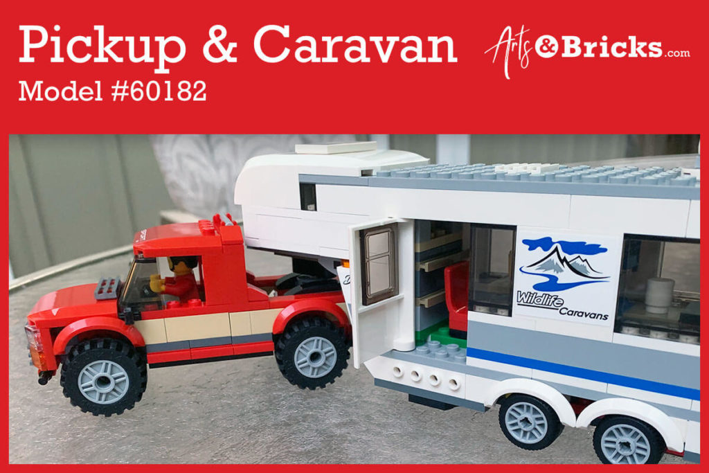 Explore the Top 3 Reasons your little brick enthusiast will love LEGO Set 60182, Pickup and Caravan.