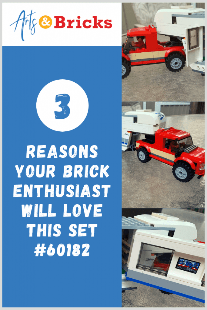 3 Reasons your brick enthusiast will love LEGO City Pickup & Caravan Set #60182