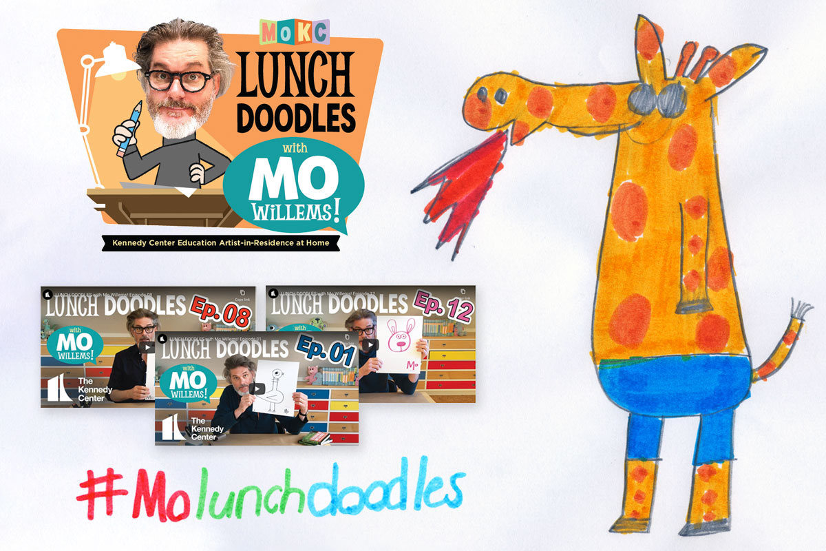 Lunch Doodles with Mo Willems - Blog Write Up