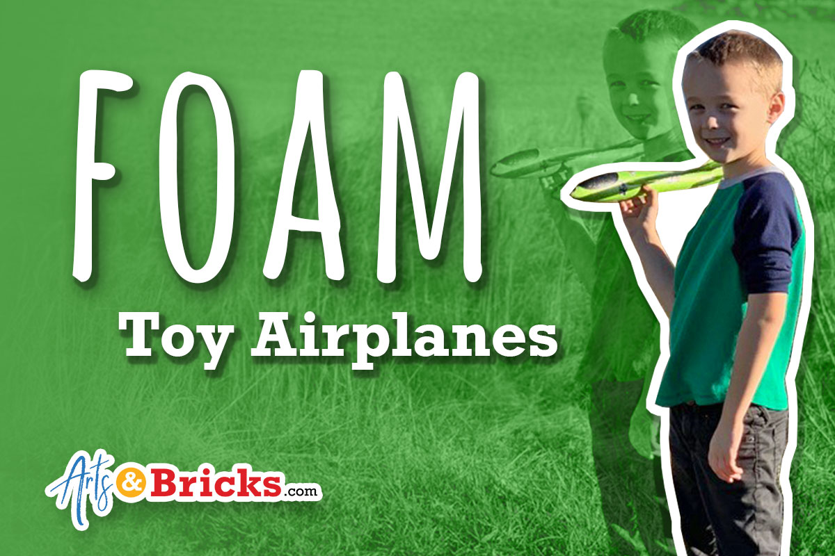 Foam Airplane Toy: Get Outdoors Foam Toy Airplanes - Outdoor Kids Activities