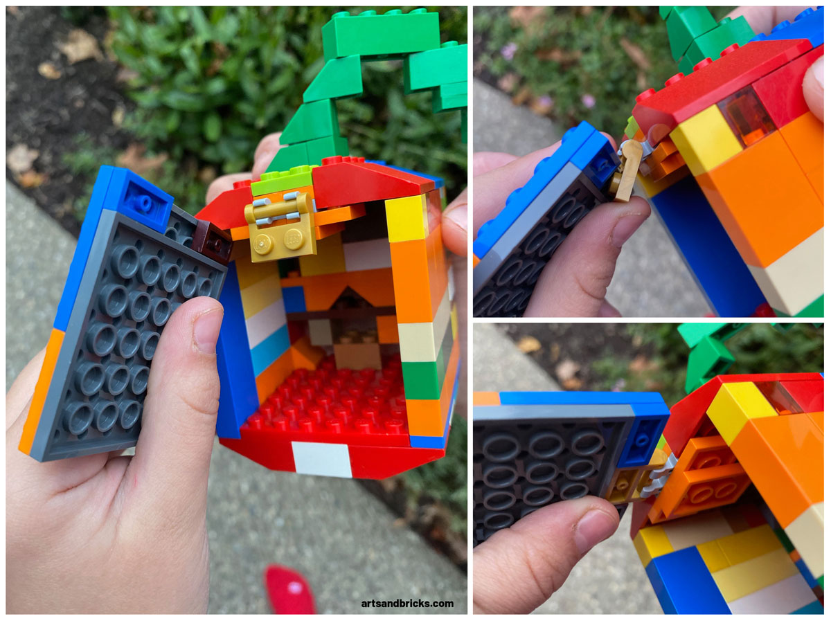 This year, bring on the Halloween joy (and avoid the traditional pumpkin carving mess) by building a colorful little Lego Pumpkin Jack O' Lantern.  Learn how to make your very own Jack O'Lantern built with colorful Lego bricks. Instructions and tips included!