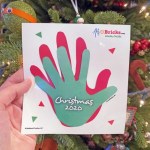 Christmas 2020 Family or Child Handprint Keepsake