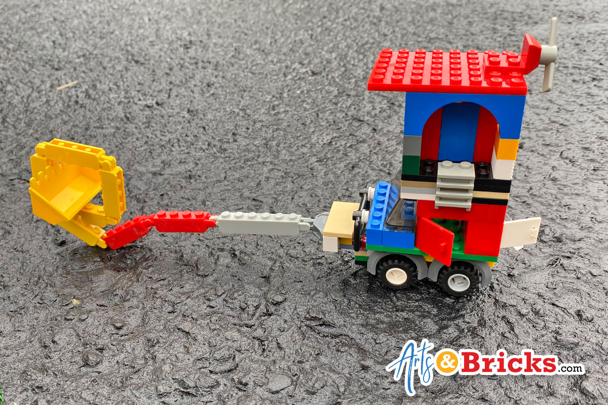 Dig-O-Matic LEGO Vehicle - Inspiration for Kids