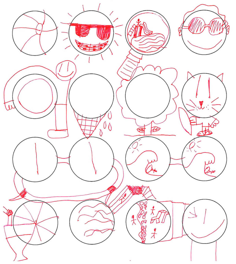 Perfect as a quick time filler or rainy day afternoon activity, the premise for circle drawing is simple: think creatively and draw something that is the shape of a circle.