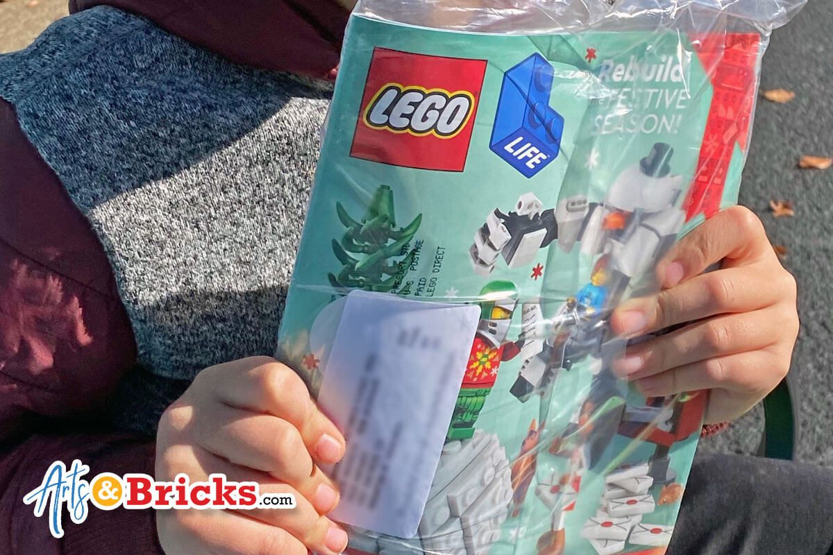 Sign your child up for LEGO's free kid's magazine: Lego Life