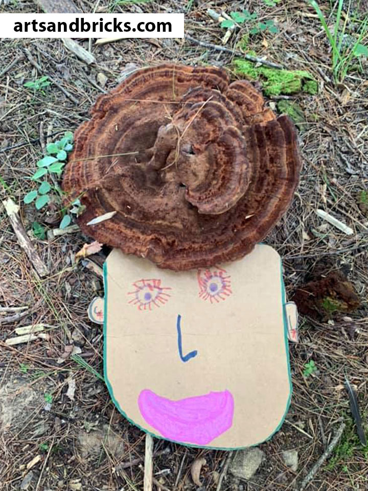 Soak up your last days of summer sunshine outside with your little ones making and photographing this adorable nature craft! Bonus! You'll have as much fun (and maybe even MORE fun) than your child with this one. Just cardboard, scissors, paints/markers or crayons and a camera required!