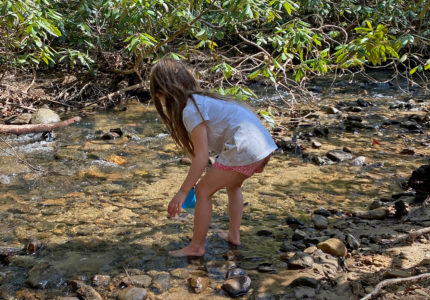 Get outside as a family, help stop nature deficit disorder