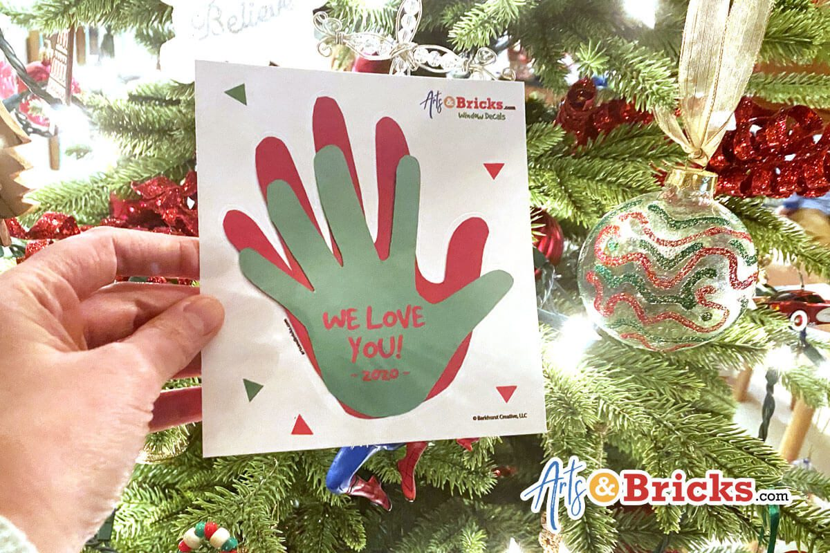 Create a Holiday Handprint Craft and Keepsake