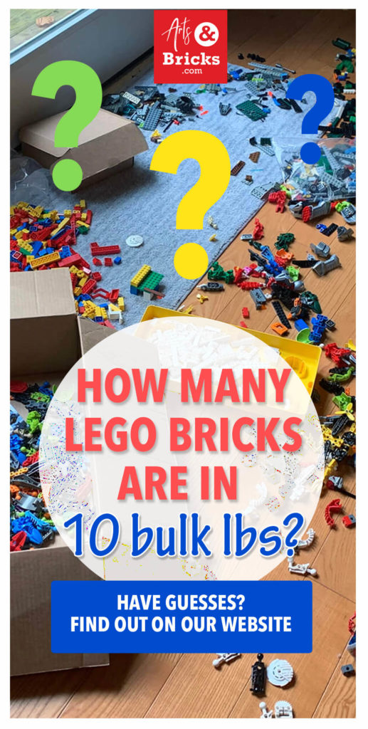 How many LEGO bricks are in 10 bulk pounds? Any guesses? Read on to find out our estimate of what you're getting when you make a bulk LEGO purchase.