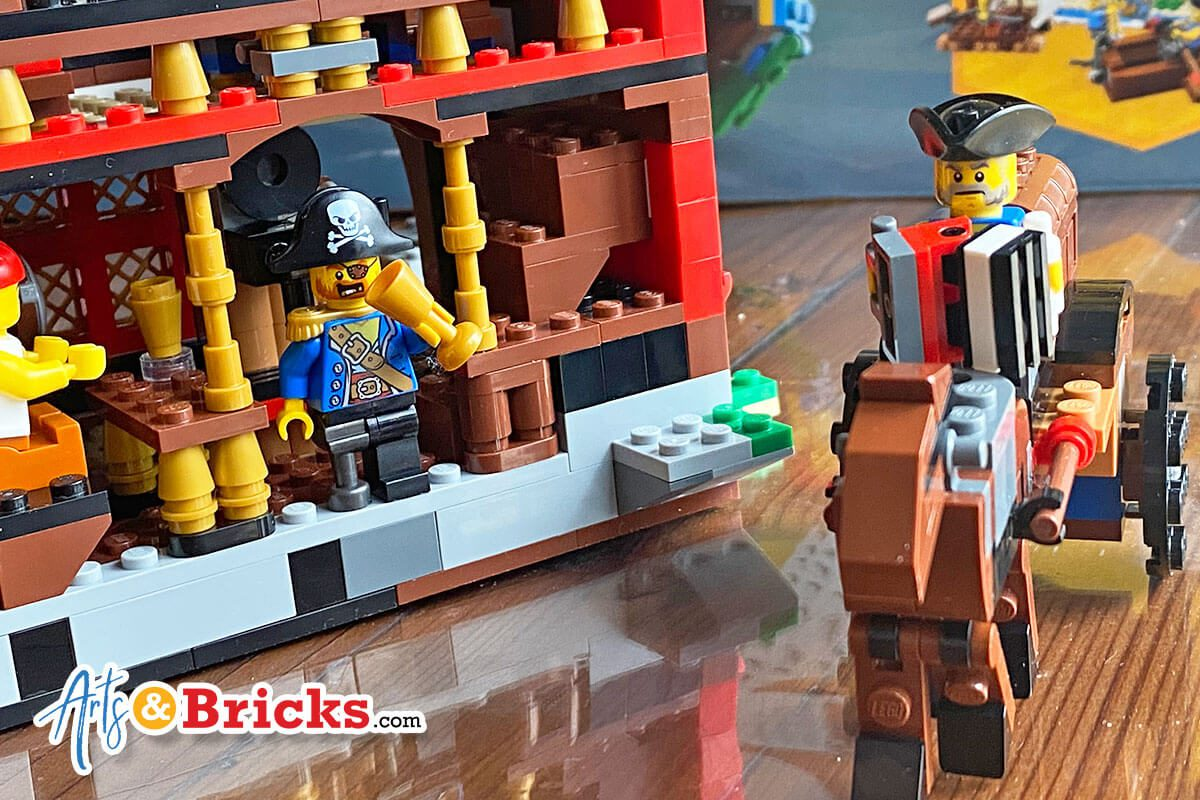 Kid-Review of LEGO Creator Pirate Ship Pirate Inn, Set 31109
