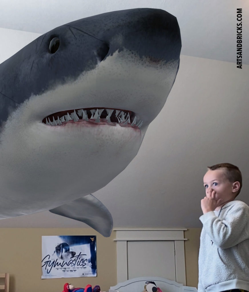 """Have you tried Google's 3D animals on your phone or tablet, yet? There is a 3D great white shark and dozens of other animal/insect options, too. Read more about how to display and """"project"""" 3D animals on your device. For convenience, we've even created a clickable 3D Animal list."""