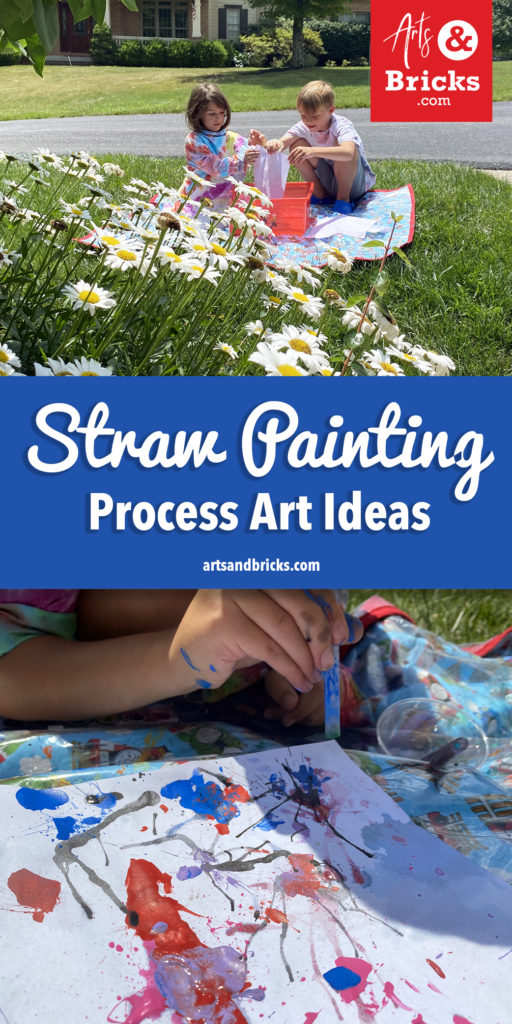 Read about ways to experiment with straws and paint; the ultimate, fun process art experiment! It's mesmerizing watching the water move and take the paint color along with it. The drips and splatters remind me of fireworks.